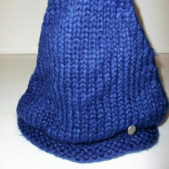 Modena Royal Blue Beanie Hat Nwt  2af1c5117ab